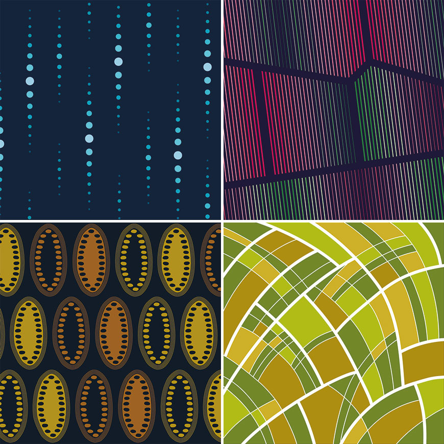 100 days of patterns design project
