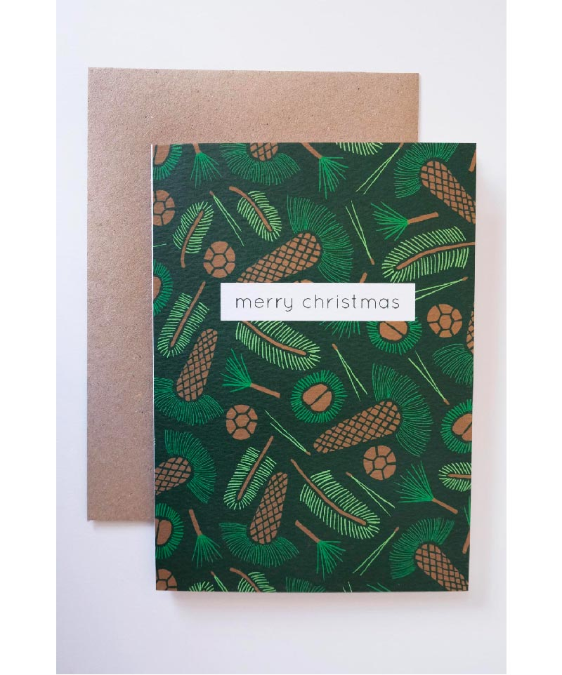 evergreen colourful cards